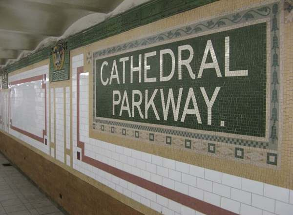 cathedral parkway subway