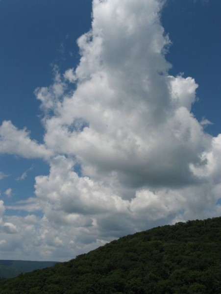 Clouds above Rocky Gap State Park