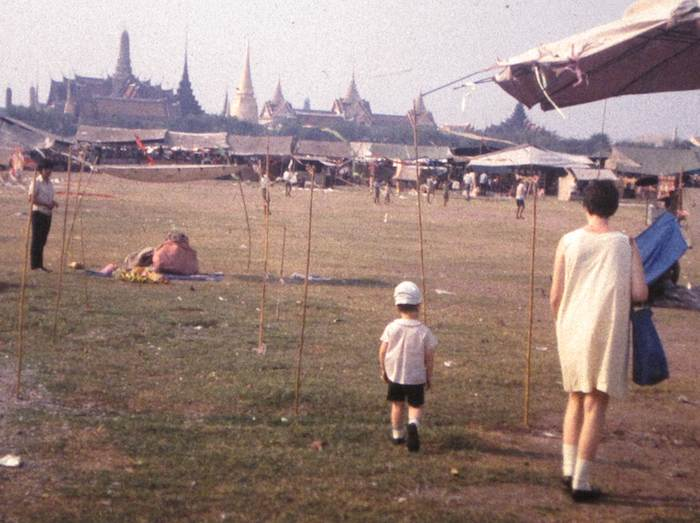 photo of John and Mom in Bangkok, Thailand