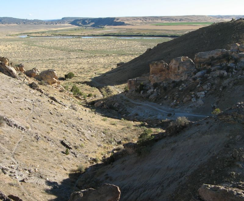photo of landscape of Dinosaur National Monument