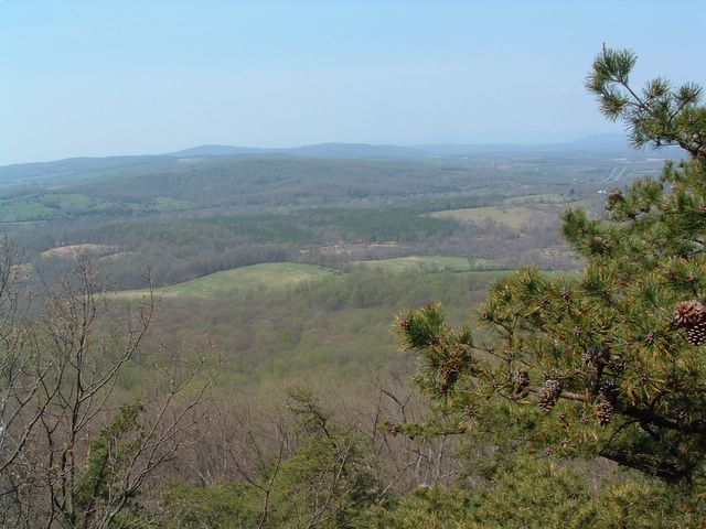 photo of vista from Bull Run Mountain Conservancy trail