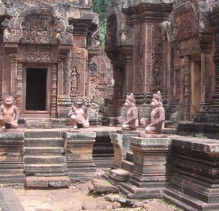 photo of Banteay Srei temple, Cambodia