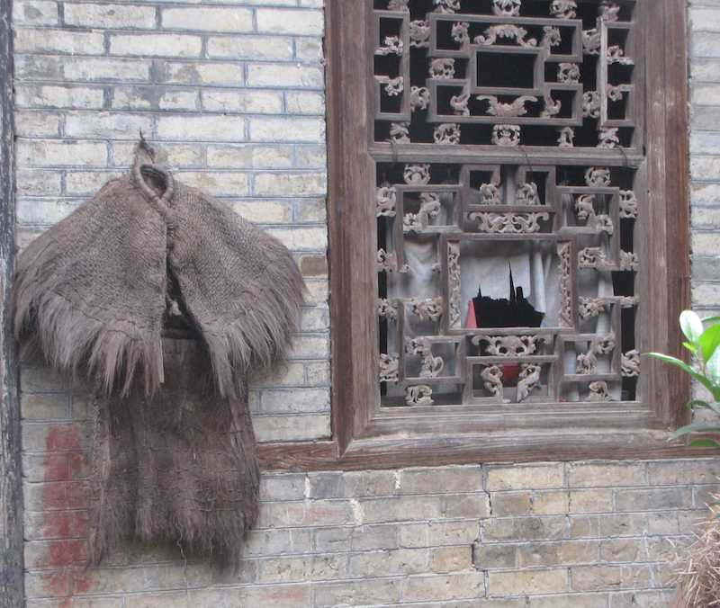 photo of a Traditional Chinese Raincoat