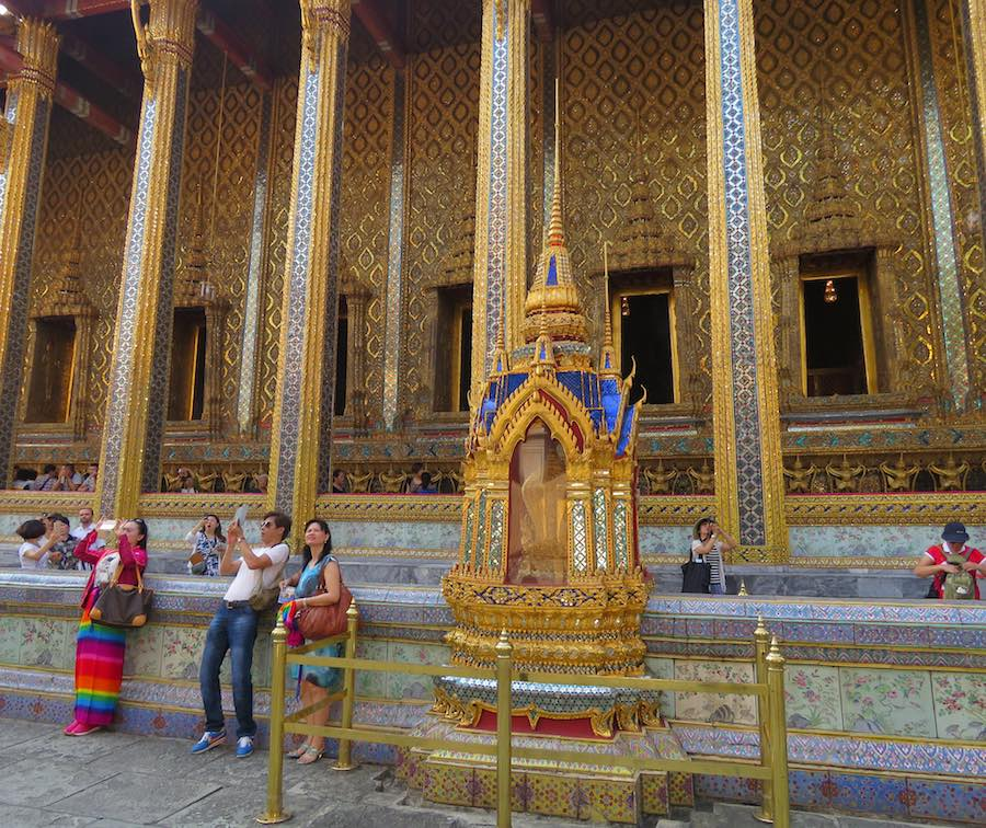 Emerald Buddha Temple at the Grand Palace