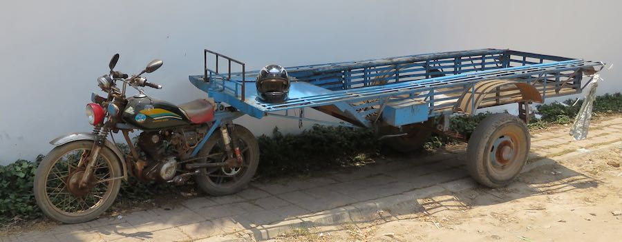 Siem Reap pickup motorcycle