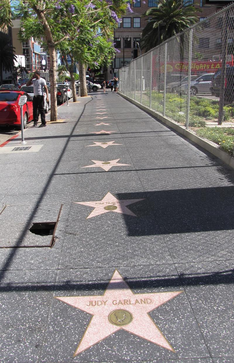 photo of Judy Garland's Star on the sidewalk (Hollywood Walk of Fame)