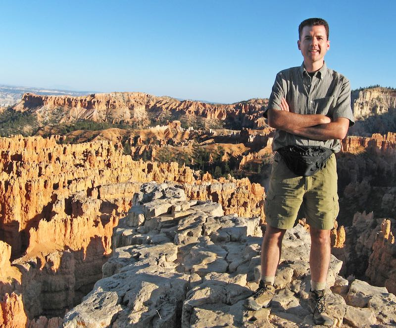 John Hunter at Bryce National Park